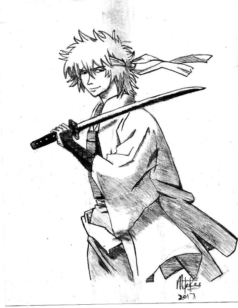 Gintoki!!!!! (GINTAMA) by mosesjunior