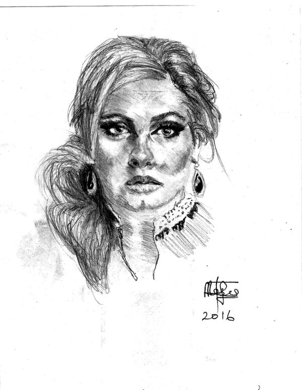 Adele by mosesjunior