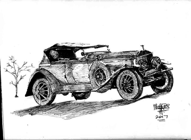 Rolls-Royce by mosesjunior
