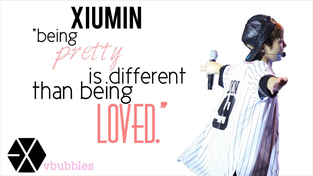 exo xiumin quote by vbubbles on deviantart