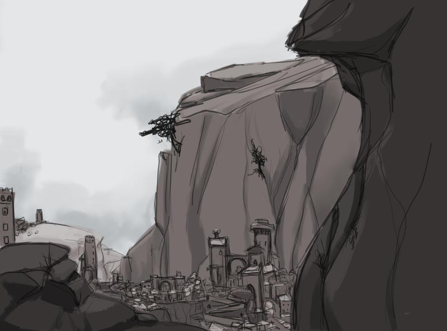 Greyscape by Charredsky