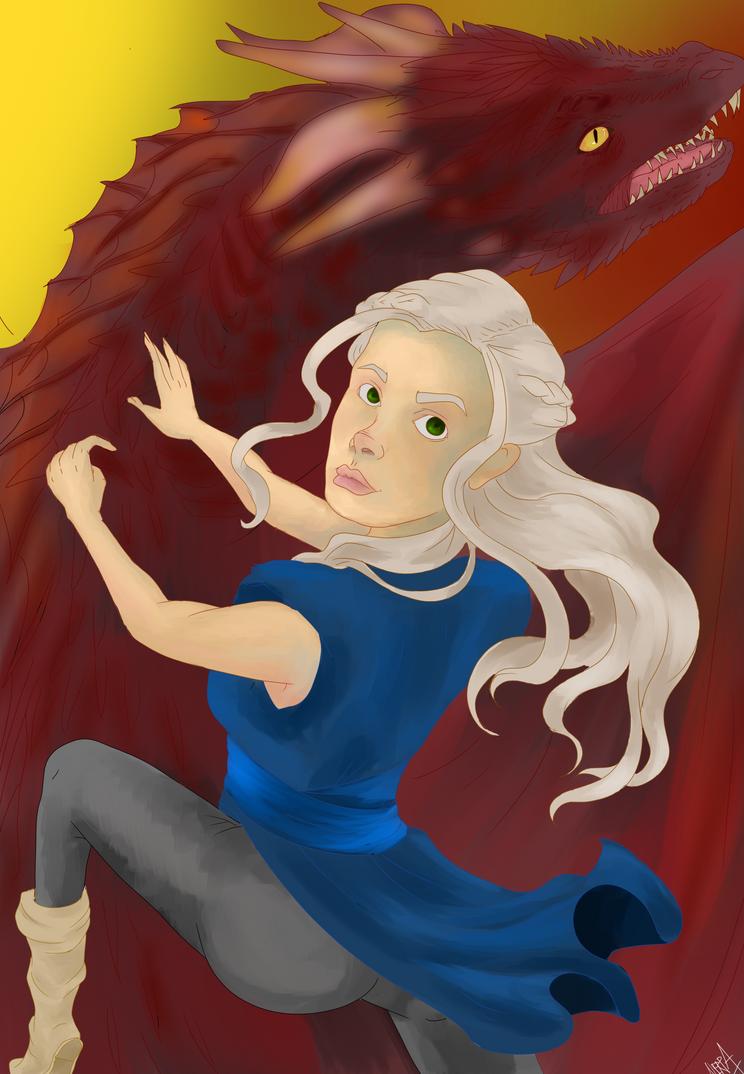 Khaleesi by SerjsSODA