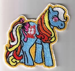 Bright Eyes Embroidered Pony