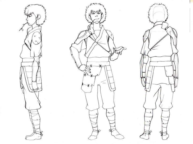 Avatar Last Airbender Character Design : Avatar design work by blacksataguni on deviantart