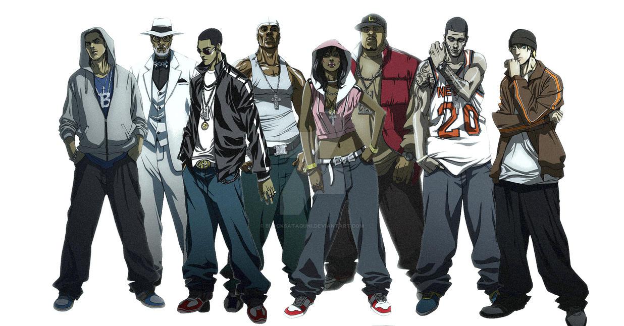 crew of earth defender by blacksataguni