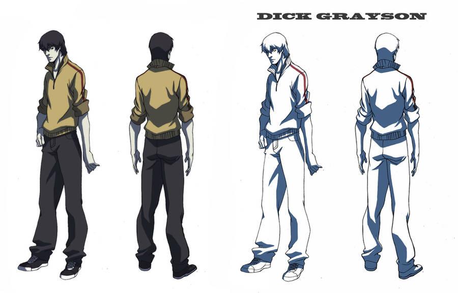 nightwing_dick grayson by blacksataguni
