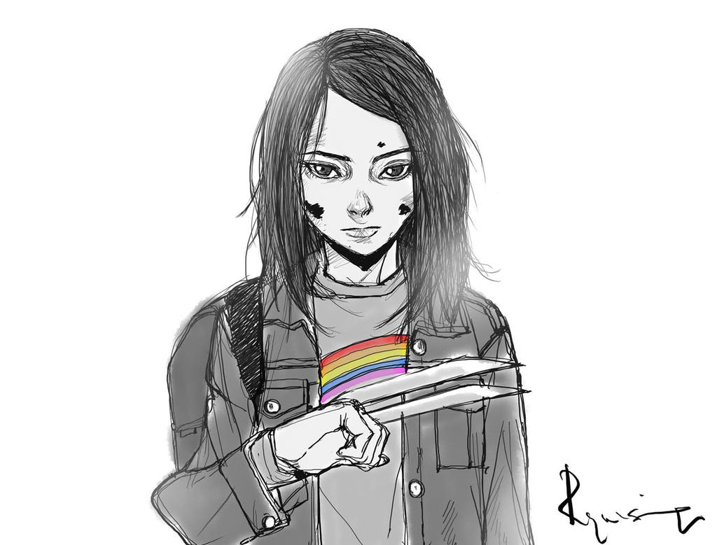 Laura by blacksataguni