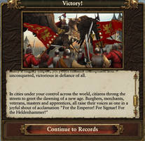 The Empire Victory text