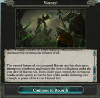 Skaven Victory text