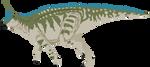 Tsintaosaurus by AdamZT2