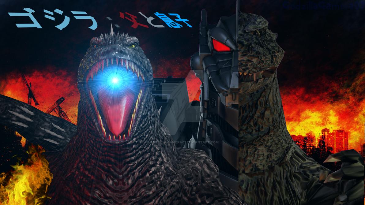 Godzilla: Father And Son Movie Poster (4K) by GodzillaGamera07