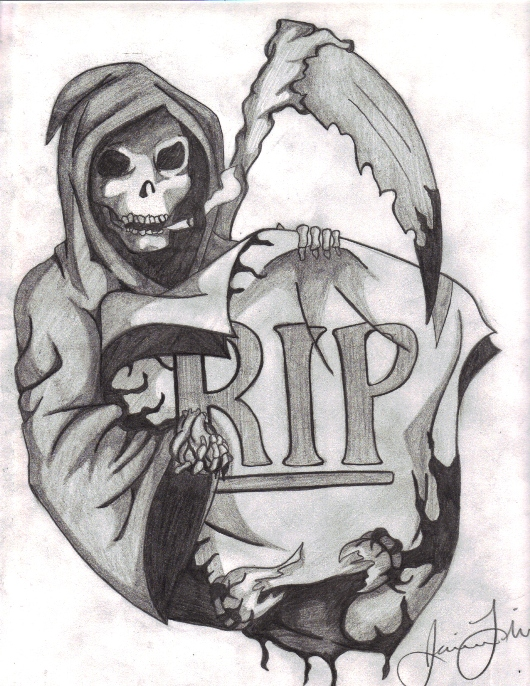 Grieving Angel Tattoo Designs