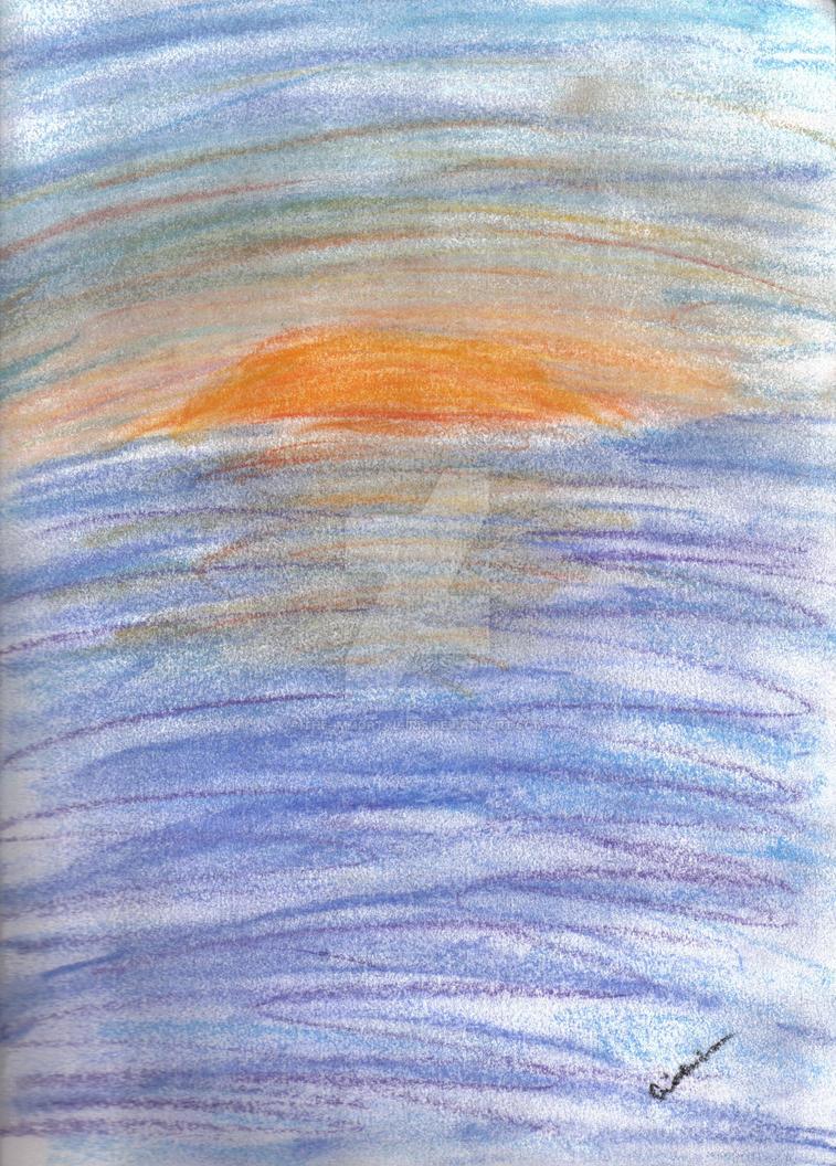Pastel Sunset by The-Immortal-Iris