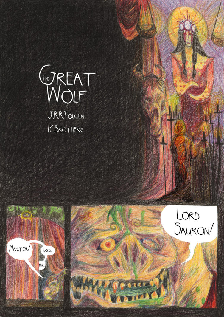 The Great Wolf- Page 1 by valo-rose