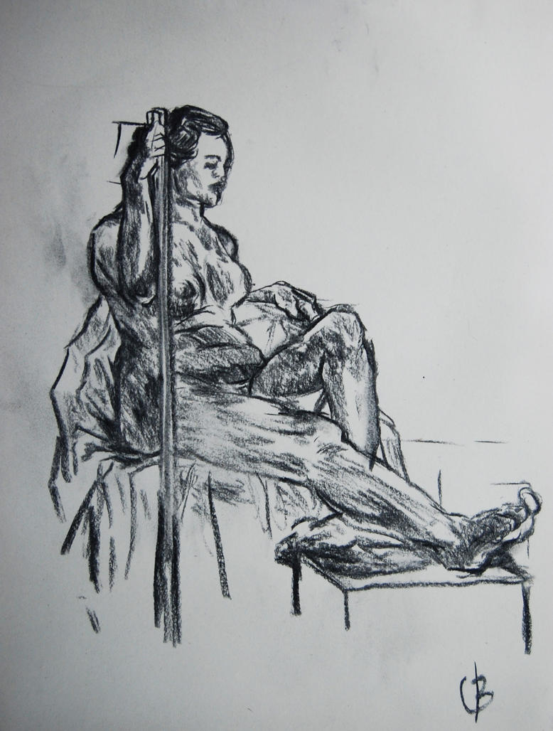 Life Drawing 14/10/15 by valo-rose