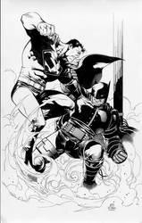 batman vs superman by MarkMorales