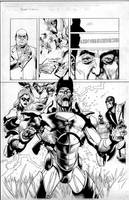 secret invasion 1 pg 23 by MarkMorales