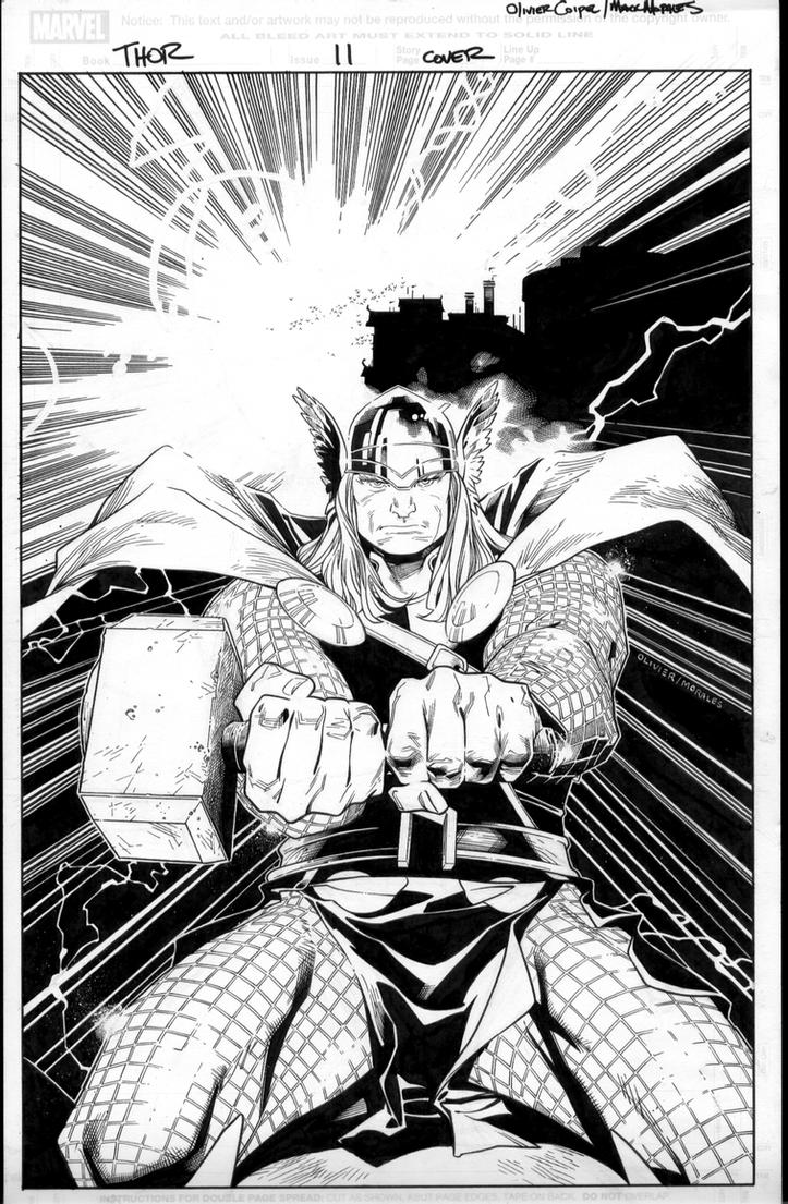 thor 11 cover by MarkMorales