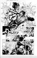 secret invasion 7 pg 12 by MarkMorales