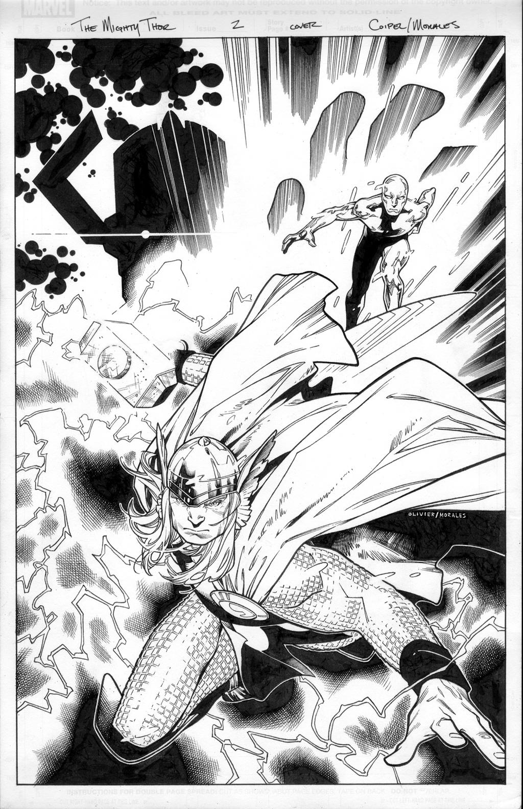 the mighty thor 1 cover