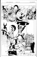 captain america 1 pg 2 by MarkMorales