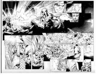 mighty thor 3 pgs 4 and 5 by MarkMorales