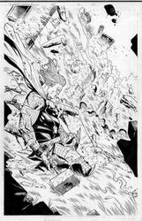 thor commission by MarkMorales
