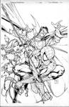 avenging spider-man cover
