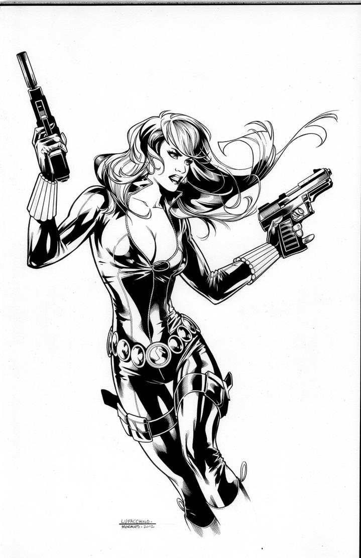 Black Widow by MarkMorales