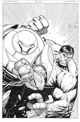 Indestructible Hulk 7 variant cover