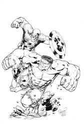 Hulk vs Cap