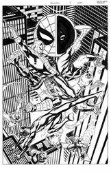 Spiderman/Deadpool #2 cover