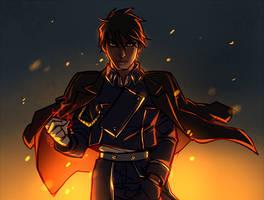 flame alchemist by spikermonster