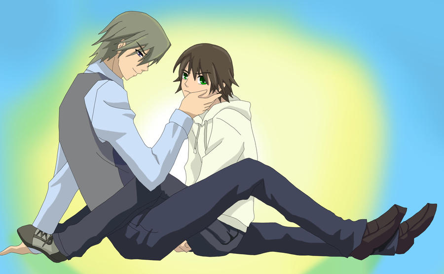 Misaki And Usagi Usagi and Misaki by Ri...