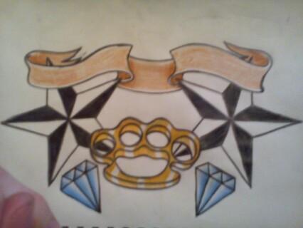 diamond, star, banner, knuckle by awson