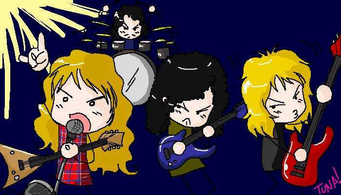 Megadeth by Tunart