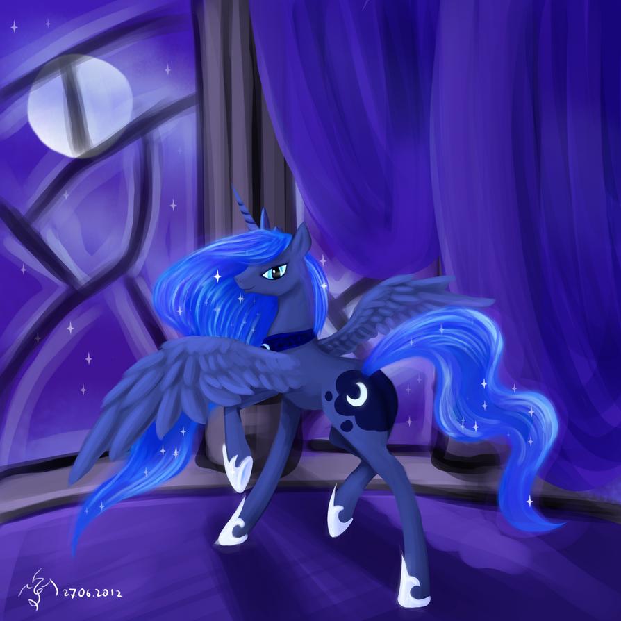 Princess Luna by Dalagar