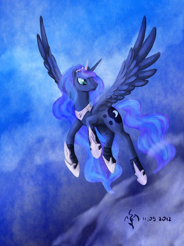 Luna by Dalagar