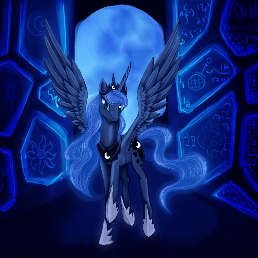 Princess Luna by Dalagar