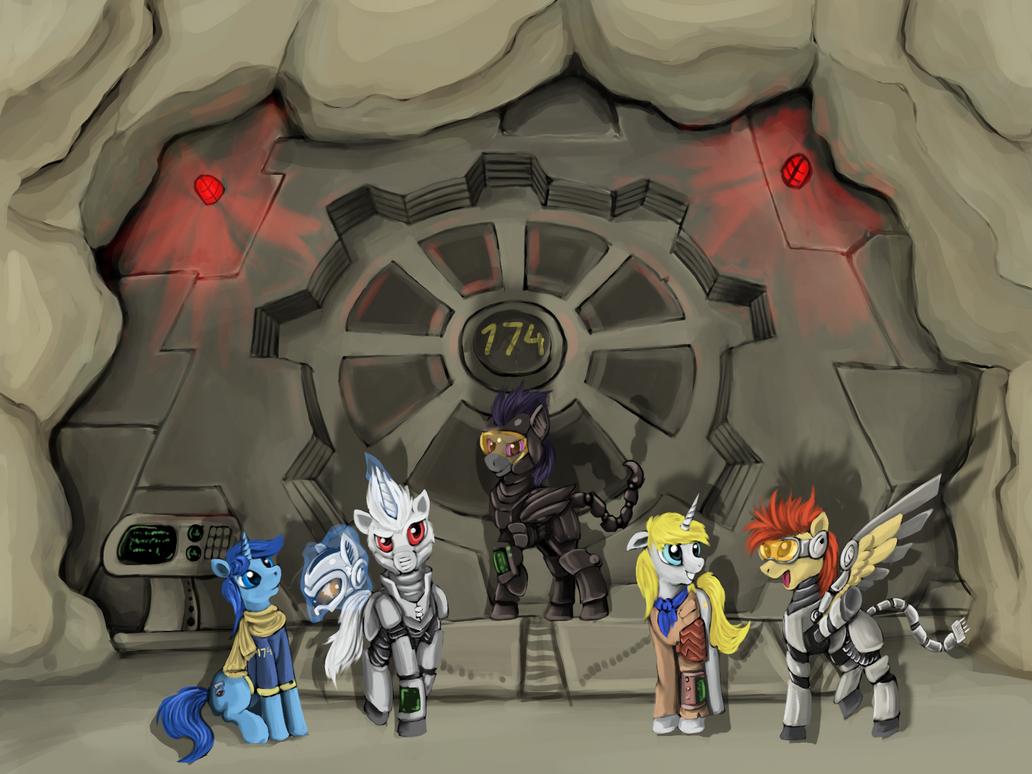 Fallout equestria by Dalagar