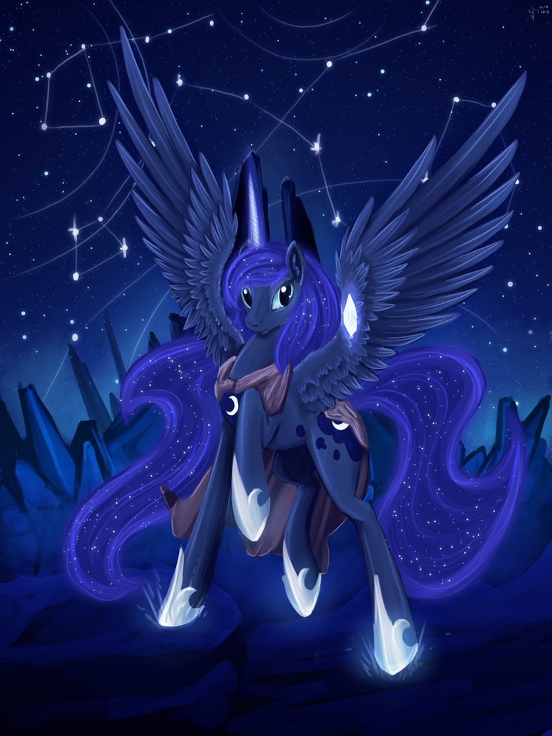 Luna Way to star Forge by Dalagar