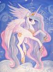 Princess Celestia portrait A2