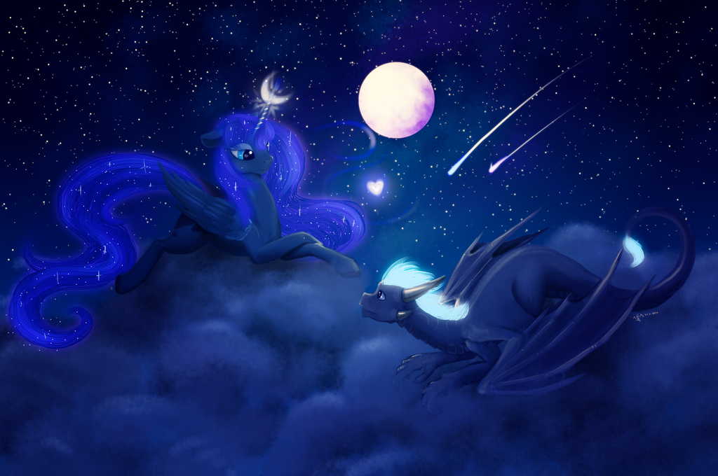 One sky for two by Dalagar