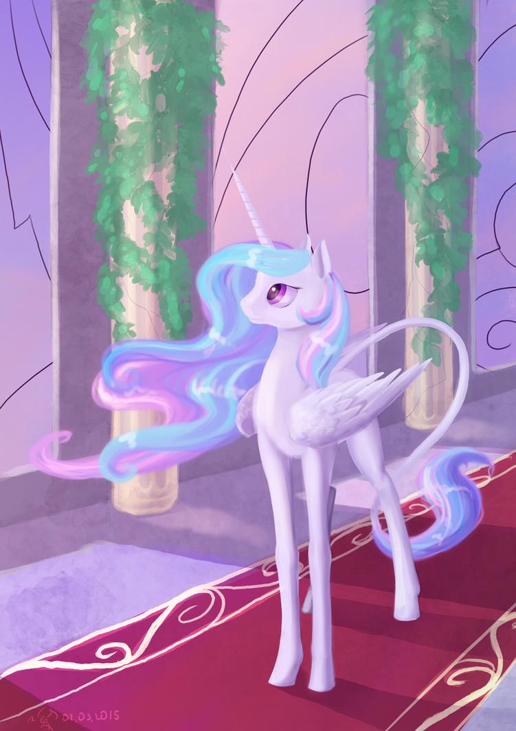 Princess Celestia by Dalagar