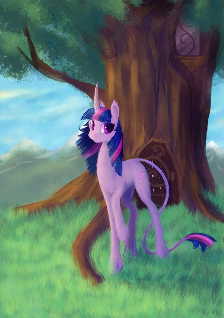 Twilight sparkle - The unicorn! by Dalagar