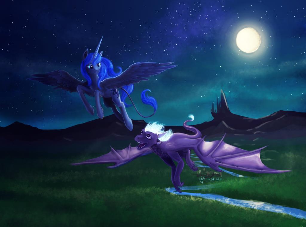 Luna and Me by Dalagar