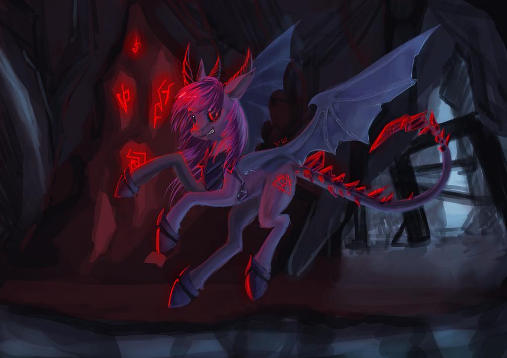 Night raven demon form by Dalagar on DeviantArt