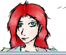 I scribbled a Red Head by Minatlas