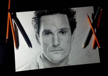 Matthew McConaughey by SavaSlepcev96