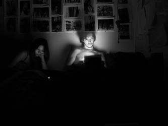 Late Night Gadgeting by Strikethecamera